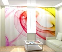 Фотошторы цветная абстракция