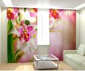 Фотошторы цветочный дизайн