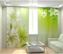 Фотошторы лилии
