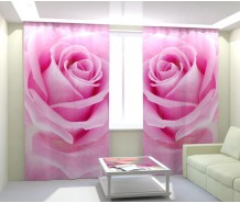 Фотошторы роза