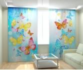Фотошторы красивые бабочки