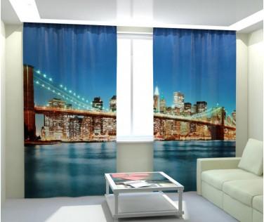 Фотошторы Бруклинский мост 3