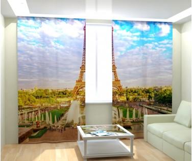 Фотошторы Лето в Париже