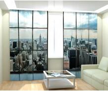 Фотошторы Окна на Манхеттен