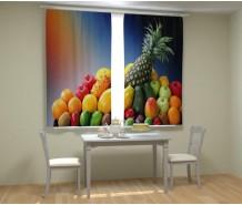Фотошторы ананас