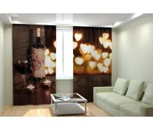 Фотошторы вино