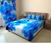 Фотопокрывало голубая орхидея