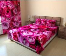 Фотопокрывало розовые розы