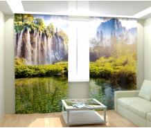 Фотошторы сказочный водопад