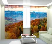 Фотошторы осень в горах