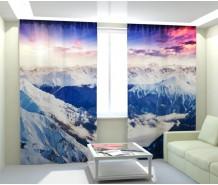 Фотошторы снежные вершины