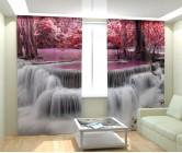Фотошторы тайский водопад