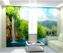 Фотошторы водопады