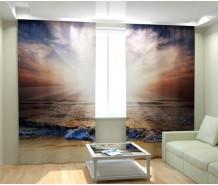 Фотошторы морской закат