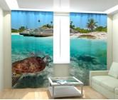 Фотошторы морская черепаха